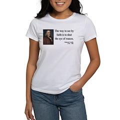Benjamin Franklin 15 Women's T-Shirt