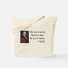 Benjamin Franklin 15 Tote Bag