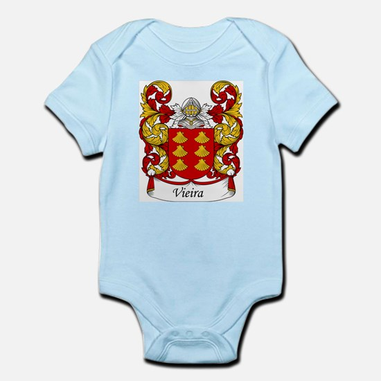 Vieira Family Crest Infant Creeper