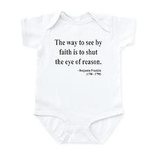 Benjamin Franklin 15 Infant Bodysuit