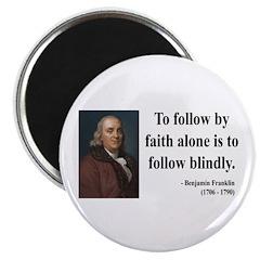 """Benjamin Franklin 16 2.25"""" Magnet (10 pack)"""