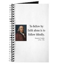Benjamin Franklin 16 Journal