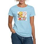 Ducky Valentine Women's Light T-Shirt