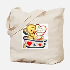 Ducky Valentine Tote Bag