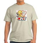 Ducky Valentine Light T-Shirt