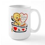 Ducky Valentine Large Mug