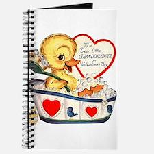 Ducky Valentine Journal