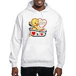 Ducky Valentine Hooded Sweatshirt