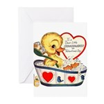 Ducky Valentine Greeting Cards (Pk of 20)