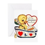 Ducky Valentine Greeting Card
