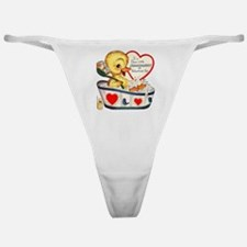 Ducky Valentine Classic Thong