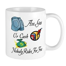 Funny Ass, Gas, or Cash Desig Mug