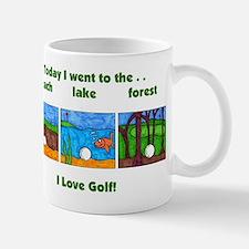 I Love Golf Mug