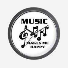 I LIVE FOR MUSIC Wall Clock