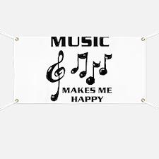I LIVE FOR MUSIC Banner