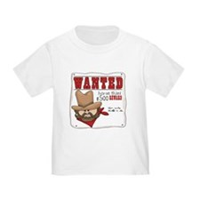 Cowboy Wanted Poster T