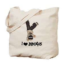 I Heart BBoys Tote Bag