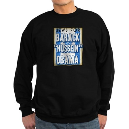 Jews For Barack Obama Sweatshirt