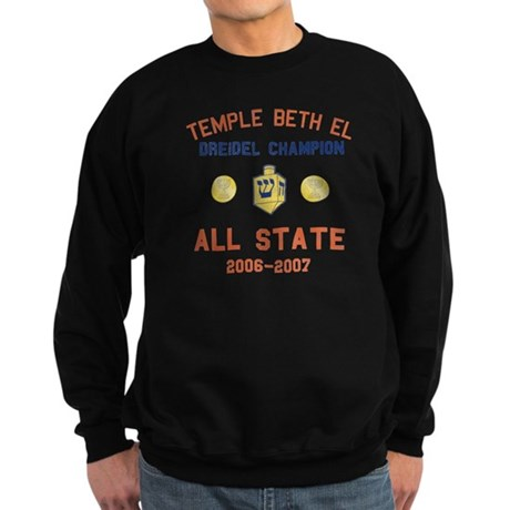 Dreidel Champion Sweatshirt (dark)