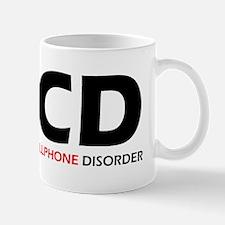 Obsessive Cellphone Mug