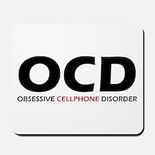 Obsessive Cellphone Mousepad