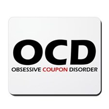 Obsessive Coupon Mousepad