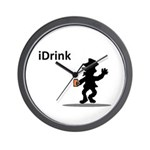 The iDrink Wall Clock
