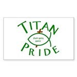 Titan Pride Rectangle Sticker