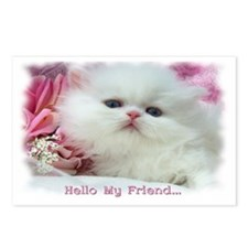 """""""Hello My Friend"""" Postcards (Package of 8)"""