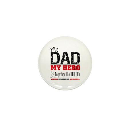 Lung Cancer Hero Mini Button