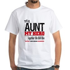 Lung Cancer Hero Aunt Shirt