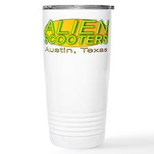 Alien Scooter Travel Mug