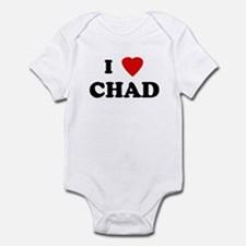 I Love CHAD Infant Bodysuit