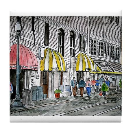 Savannah Georgia River Street Tile Coaster