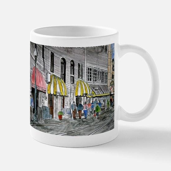 Savannah Georgia River Street Mug