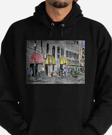 Savannah Georgia River Street Hoodie (dark)