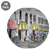 """Savannah Georgia River Street 3.5"""" Button (10 pack"""