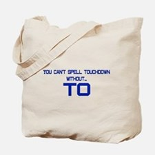 TO Touchdown Tote Bag