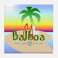 Balboa Tile Coaster