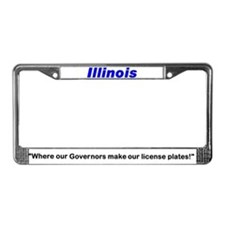 Cute Blagojevich License Plate Frame