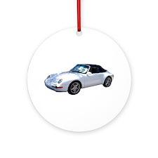 WHT PORSCHE Ornament (Round)