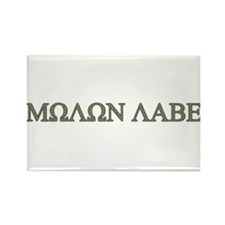 Molon Labe - Greek Lettering Rectangle Magnet (10