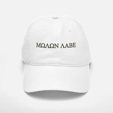 Molon Labe - Greek Lettering Baseball Baseball Cap