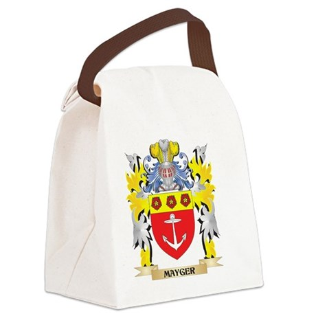 Mayger Coat of Arms - Family Cres Canvas Lunch Bag