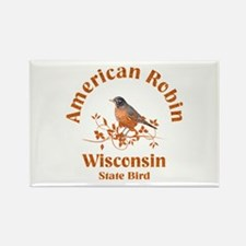 Wisconsin Rectangle Magnet