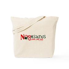 Eggnog - Nogasaurus Tote Bag
