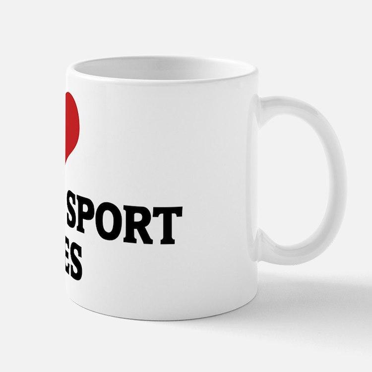 I Love Brazilian Sport Horses Mug
