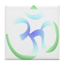 Peace love and pilates Tile Coaster