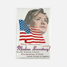 Madam Secretary! - Rectangle Magnet