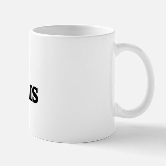 I Love Boulonnais Horses Mug